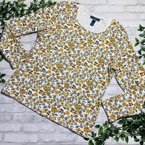 Karen Scott floral top